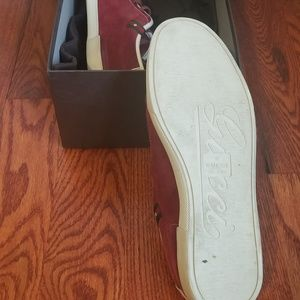 Gucci Shoes - My FAVORITE GUCCI Red Suede Sneakers